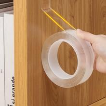 Carpet-Socket Tapes Gadget Glue Adhesive Transparent Acrylic Washable Double-Sided Fixed