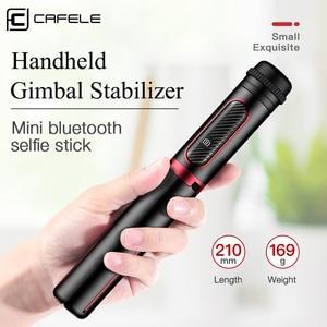 Image 2 - Cafeleบลูทูธไร้สายSelfie Stickมือถือ3แกนGimbalผู้ถือกล้องStabilizerสำหรับโทรศัพท์รีโมทคอนโทรล