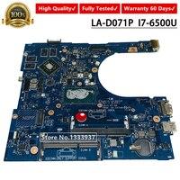 Mainboard CN 0F1J0W 0F1J0W F1J0W FOR Dell Inspiron 15 5759 5559 Laptop Motherboard AAL15 LA D071P SR2EZ I7 6500U