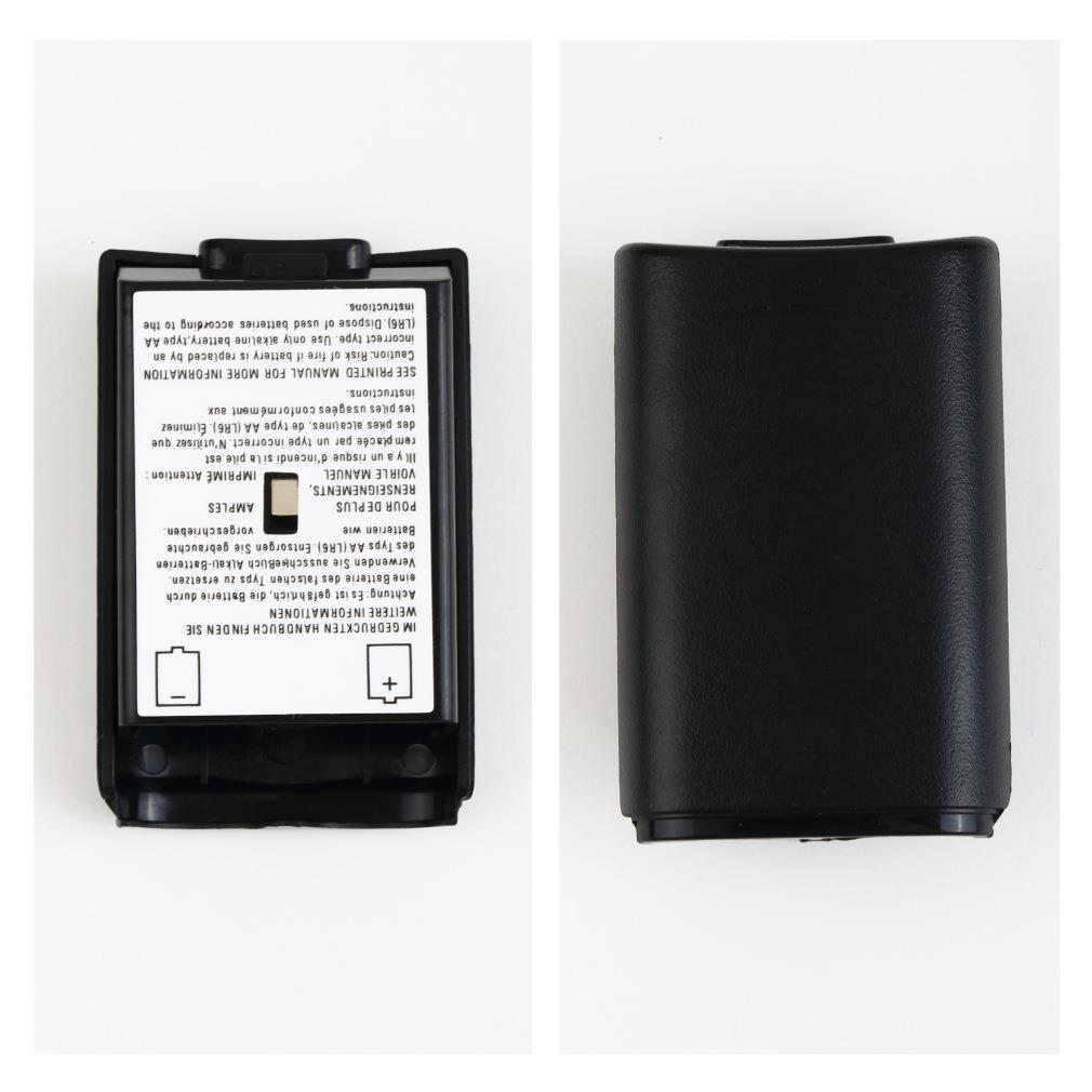 For Xbox 360 Battery Pack Cover Shell Shield Case Kit For Xbox 360 Wireless Controller Free / Drop Shipping