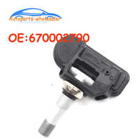 Autopartes 670002790 TPMS Sensor de presión de neumáticos Monitor para 2009 2010 2011 mercedes-benz SLK300