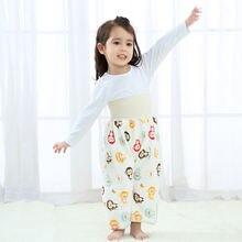 Детская юбка из чистого хлопка для предотвращения утечки мочи