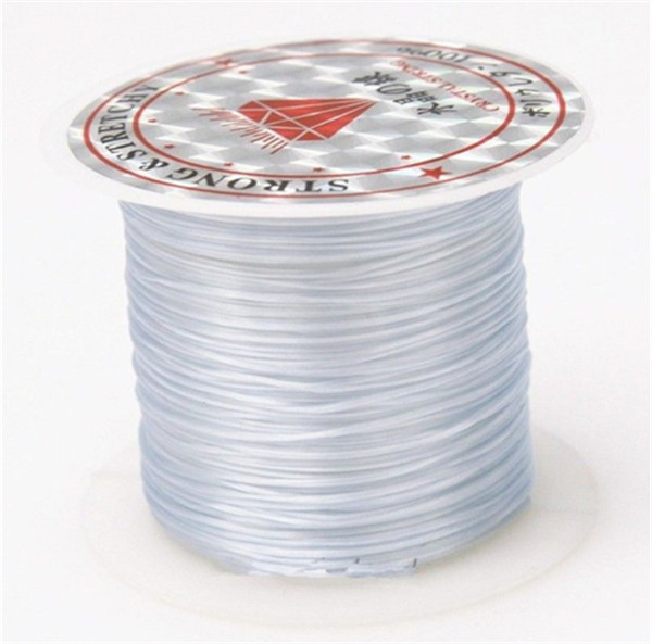 393 дюйма/рулон, крепкий эластичный шнур для бисероплетения с кристаллами, 1 мм, для браслетов, стрейчевая нить, ожерелье, сделай сам, для изготовления ювелирных изделий, шнуры, линия - Цвет: Color 9