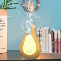 200ml Air Humidifier Wood Marble Grain Aroma Essential Oil Diffuser Ultrasonic Aromatherapy Humidificador Electric Oil Difusor