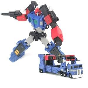 Image 1 - Magic Square ms zabawki transformacja MS B04D Ultra Magnus tryb transportera MS B04D Mini figurka zabawkowe roboty prezent