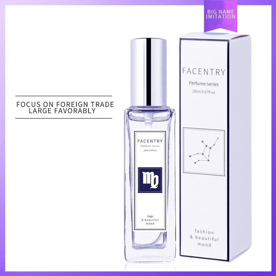 20ml Twelve Constellations Perfume Long Lasting Men Perfume Marine Woody Fruit Pefume Body Spray Glass Bottle Perfumes Fragrance