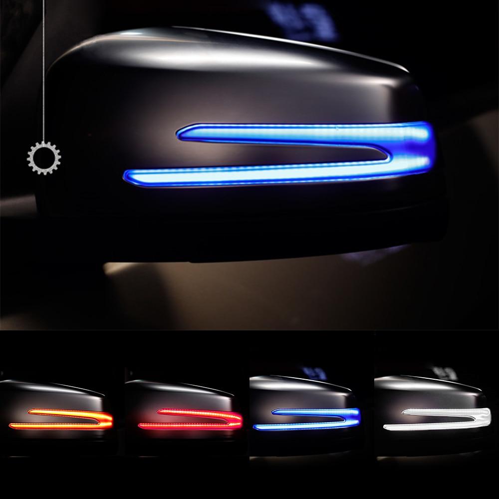 Blinker Lamp Turn Signal Light For W221 W212 W204 W176 W246 X156 C204 C117 X117 Car Rear View Mirror Light LED Indicator