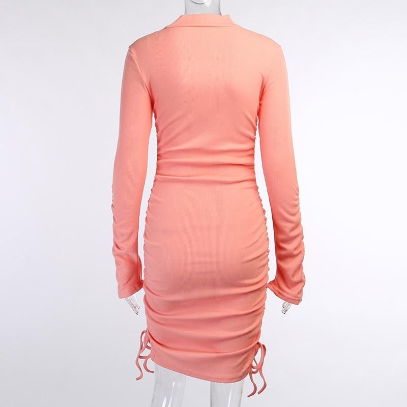 knitting turtleneck dress14