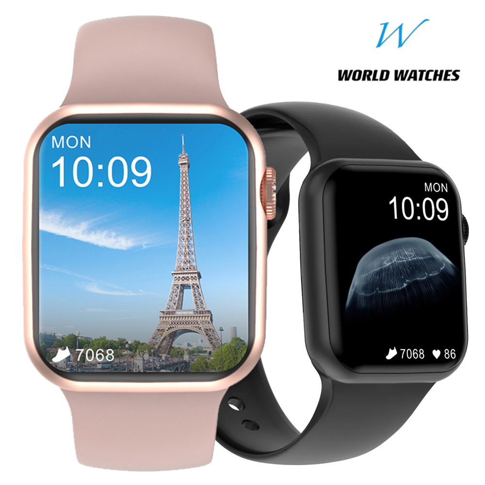 Permalink to 2021 Bluetooth Smart Watch Call Custom Dynamic Women Watch Face Smartwatch Full Touch 1.75 IP67 Waterproof For Android IOS DT100
