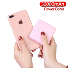 Mini Power Bank 30000mAh Portable New 2020 Small Size External Battery Pack Powerbank For smart phone