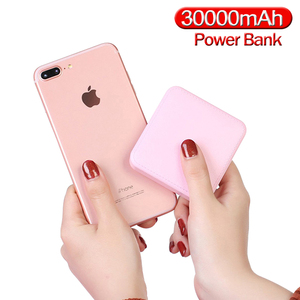 Image 1 - Mini Power Bank 30000mAh Portable New 2020 Small Size External Battery Pack Powerbank For smart phone