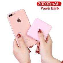 Mini Power Bank 30000mAh przenośny nowy 2020 mały zewnętrzny zestaw akumulatorów Powerbank do smartfona