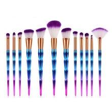 12PC Fashion Loose Powder Makeup Brushes Set Foundation Eye Blush Brush Cosmetic Professional Makeup Brush kit Tools