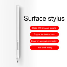 AJIUYU tablette stylo pour Microsoft Surface Pro 7/6/5/4/3 Go Pro X stylet Rechargeable stylo livre ordinateur portable 3/2 Studio pression stylo tactile(China)
