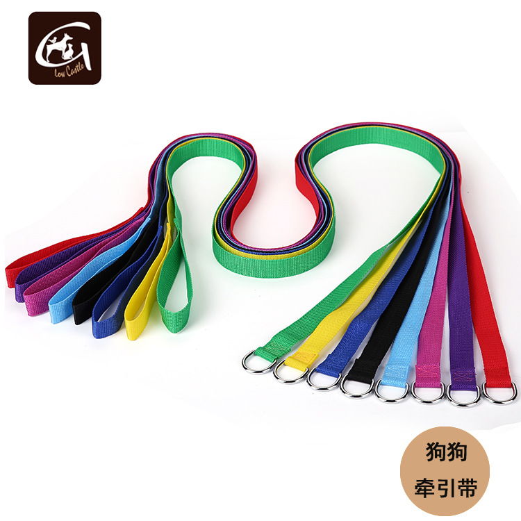 Glow Castle Dog Supplies Pp Neck Ring Sling One-piece Hand Holding Rope Special Offer Traction Belt