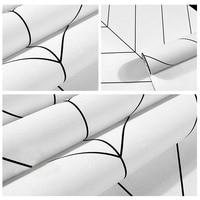 Decoration Nordic Stripes Wall Papers Minimalist Geometric Wallpaper New