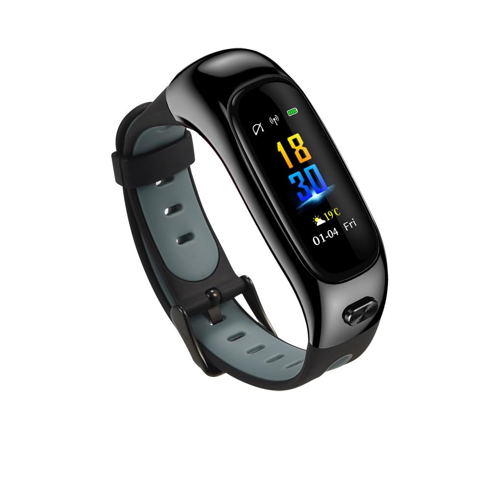 KARUNO Smart Horloge S1 Kleur Screen Polsband Bloeddruk Hartslagmeter Fitness Tracker Mannen Vrouwen Smartwatch Armband