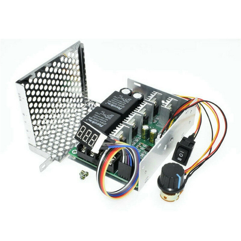 Image 5 - DC10 55V 60A 5000W Reversible DC Motor Speed Controller PWM Control Soft Start Adjustable drive moduleMotor Controller   -