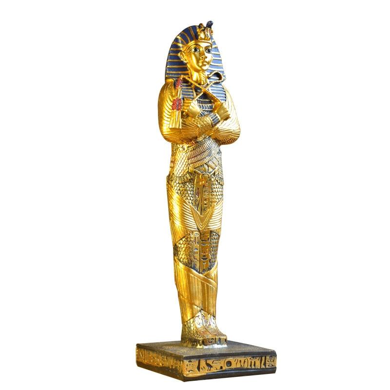 Ancient Egypt God Pharaoh God of War Statue Resin Crafts Legend Myth Figure Art Sculpture Home Desktop Decoration Souvenir R2916|Statues & Sculptures| |  - title=