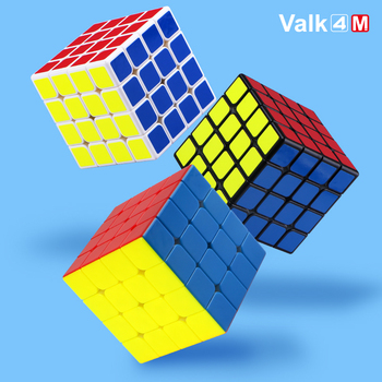 Valk4 M Qiyi Magnetic Cube 4x4 Speed Cube 4x4x4 Strong Magnet Cubo Magico Valk 4 Magnets Magic Cubes Puzzle Toys For Children 4x4x4 qiyi magic cube professional speed puzzle cube educational toys for kids children xmas gifts cubo magico rubic