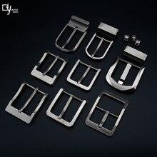 Titanium Belt Buckles Pure Titanium Belt Buckles Ladies and Gentlemen Pin Buckles Allergy-proof Belt Buckles