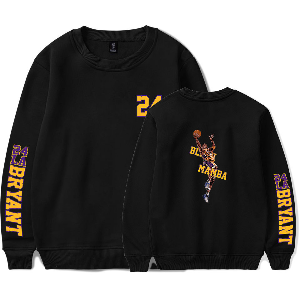 Kobe Bryant Lakers Sweatshirt  Pullover Casual Fashion Men Women Sweatshirts Hip Hop Streetwear Hoodies Kobe Bryant Hoodies 3D