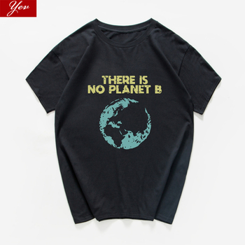 there is no planet B Sarcastic Graphic funny t shirt men streetwear hip hop t-shirts man oversized aesthetic tshirt clothing - sale item Tops & Tees