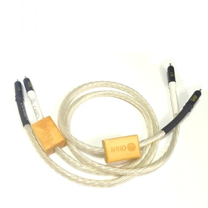 Image 5 - Hifi Nordost Odin Supreme Reference Interconnect audio cable interconnect cable RCA WBT 0102Ag connector Vinshle