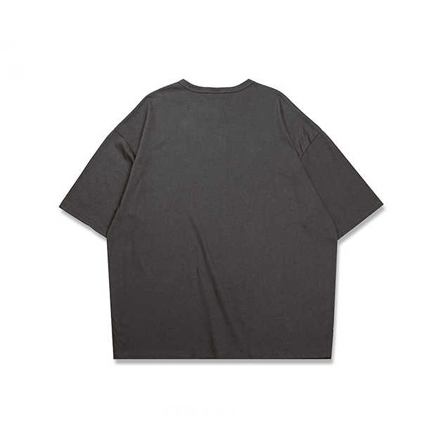 Aelfric Eden Groothandel Casual Oversized t-shirt Mannen Vrouwen Streetwear Skateboard Top Tees Heren T-shirt Eenvoudige Katoenen BTS T-shirt