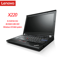 95New Lenovo ThinkPad X220 Notebook Computers 8GB Ram Laptop 1280x800 12 Inches Win10 English System Diagnosis Pc Tablet 1