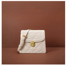 YIFANGZHE 2019 Fashion Women Genuine Leather Shoulder Bags,  Woman/Gilrs Mini Small Crossbody Bag Flap with Scarves