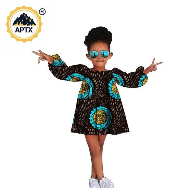 Купить африканская одежда для детей красивое трапециевидное платье