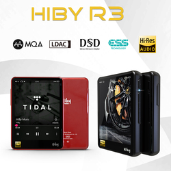 HiBy R3 Bluetooth MP3 плеер с высоким разрешением музыкальный плеер без потерь цифровой аудио плеер Tidal MQA R3Pro