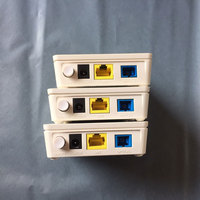 Gpon ONU HG8310M ftth Fiber Optic HG8010H second hand ont Router 1GE with power hua wei