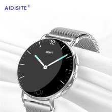 AIDISITE Metal Sport Smart Watch Touch Heart Rate Sleep Blood Pressure Monitor Phone Reminder GPS Smartwatch For Android IOS [in stock]no 1 g8 smartwatch bluetooth 4 0 sim call message reminder heart rate blood pressure smart watch for android ios phone