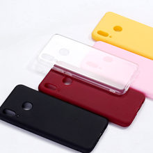 Simple Solid Color For Xiaomi Mi Redmi Note 5 6 7 8 9 lite Pro Plus Clear Crystal Candy Silicone Phone Case Cover Funda Coque(China)