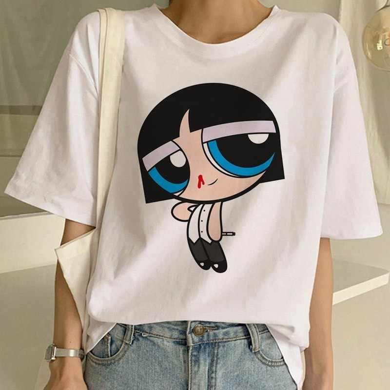 Pulp filme de ficção engraçado impressão t camisa feminina mia harajuku ulzzang verão camiseta moda virgem maria mia tshirt superior camisetas femininas
