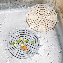 Clearance Sale Spider Web Shape Kitchen Sink Filter Bathroom Washbasin Bathtub Sewer Strainers Anti-blocking Floor Drain Cover