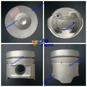 Para Isuzu 6HH1 6HH1T kit de pistón 115MM 8-94391-598-0 con Pin y Clips para camión 8226cc Diesel reparación de motor partes
