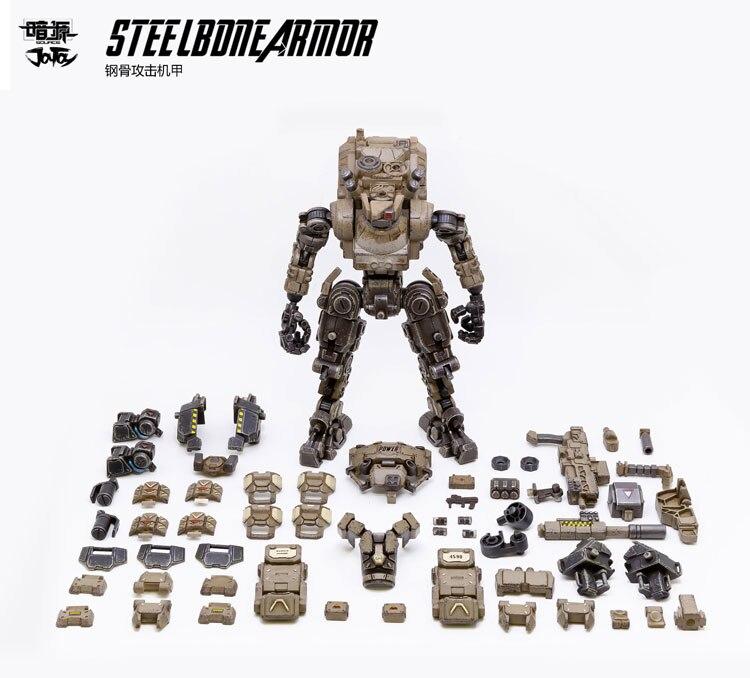 1/25 JOYTOY action figurine FSTEEL os armure méca et militaire soldat figure modèle jouets collection jouet cadeau de noël - 4