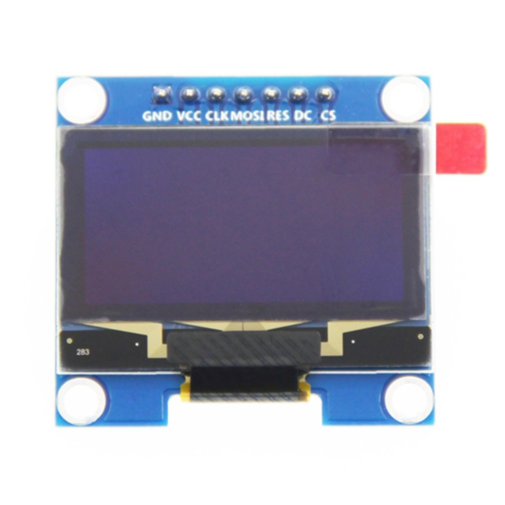 1.3 Inch 128X64 OLED Module White On Black 3-wire SPI 4 Wire SPI IIC Interface LED Display Driver SH1106