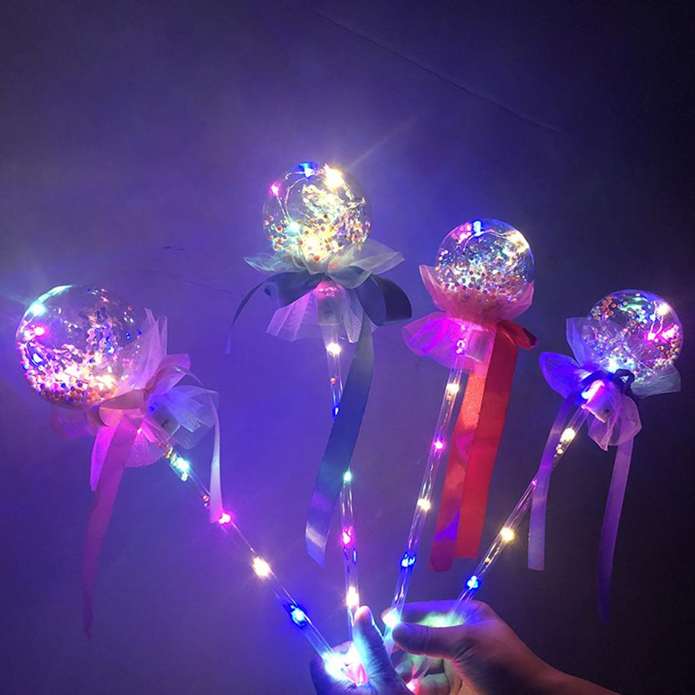 LED Luminous Glow Stick Star Sky Tok LED Luminous Ball Glow Stick Toy For Party Concert Supplies