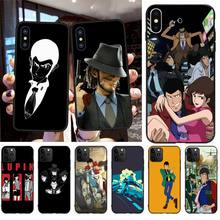PENGHUWAN Lupin III Black TPU Soft Phone Case Cover for iPhone 11 pro XS MAX 8 7 6 6S Plus X 5S SE XR case