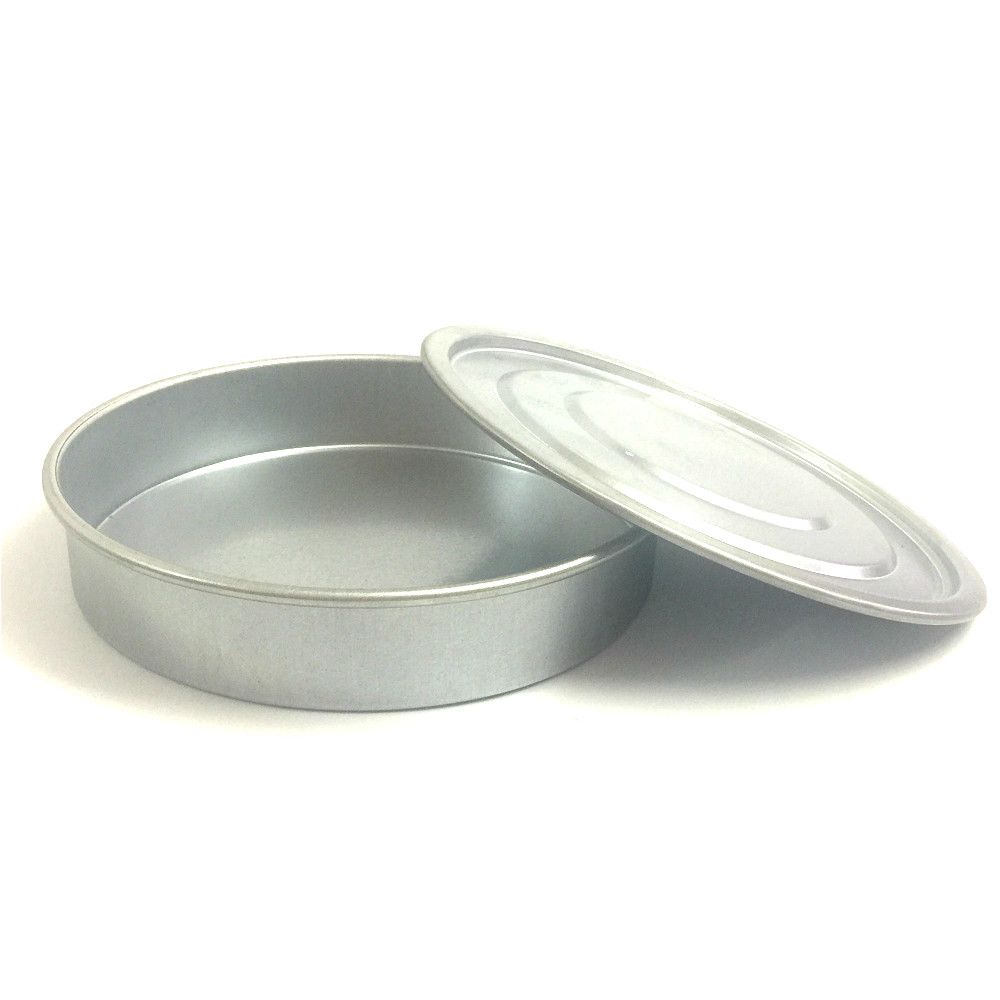 Lid And Bottom For Test Sieve Dia 20 Cm Galvanized Cover And Container For Laboratory Sampling Inspection Pharmacopeia Sieve