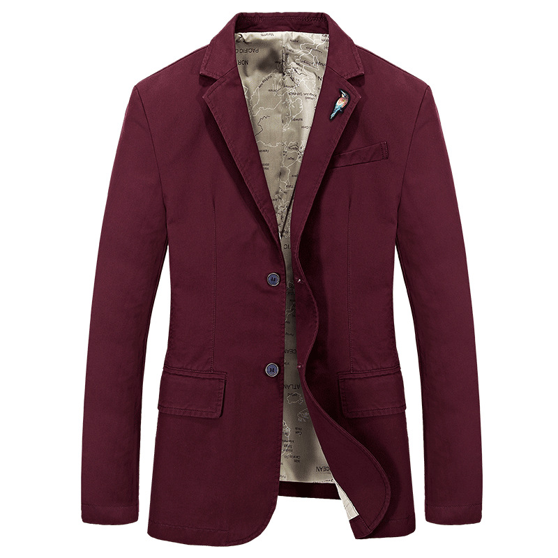 2019 Spring And Autumn-Men's Small Suit Large Size Leisure Suit Men'S Wear Youth Loose-Fit Suit Jacket 66001