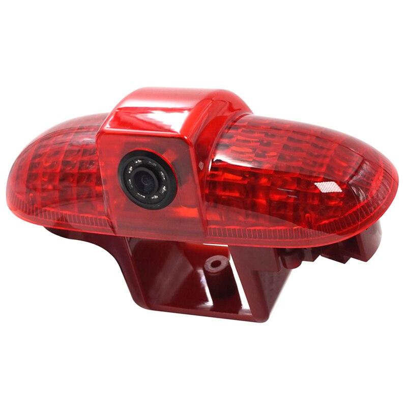 Резервный тормозной светильник камера заднего вида CMOS для Opel Vivaro/Trafic 2001-2014 Водонепроницаемый 170 третий тормозной светильник для камеры