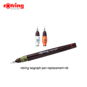 Image 3 - Rotring Isograph pen replacement nib 0.1mm 1.0mm 1piece