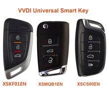 Xhorse vvdi universal remotos chave inteligente com função de proximidade pn xskf01en xsmqb1en xscs00en versão em inglês