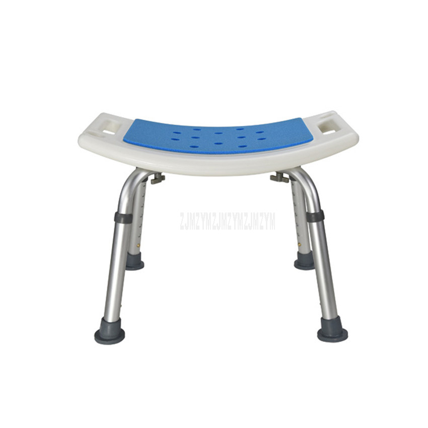 Anti-Skid Pregnant Woman Bath Stool Height Adjutable Bath And Shower Stool Bench Safety Seat For Elderly/Disabled People Older