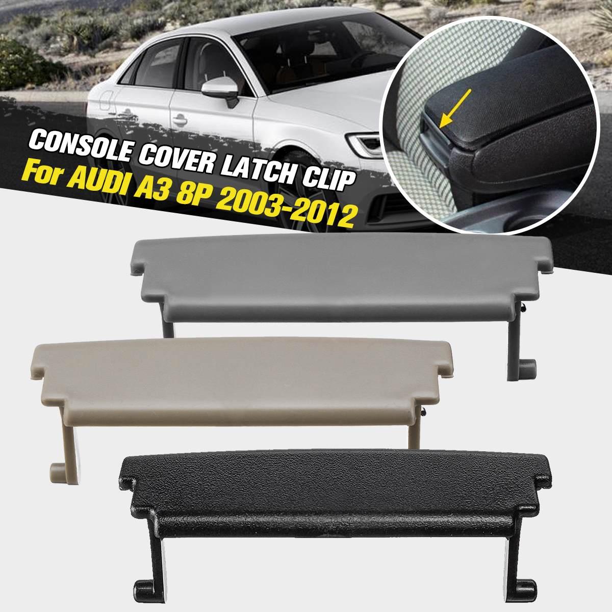 1Pc Car Auto Plastic Console Center Armrest Cover Latch Clip Lid Catch for Audi A3 2003 2004 2005 2006 2007 2008 2009 2010 2011 2012
